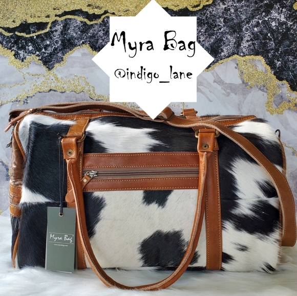 """🔥🔥🔥TODAY ONLY! Myra """"Onyx"""" Leather Bag"""